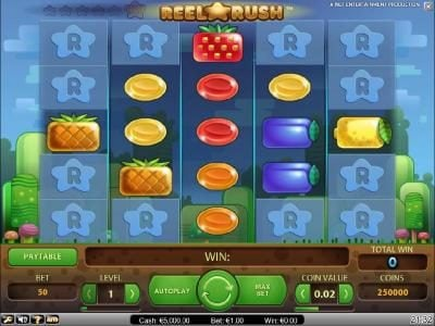 Play slots at DruckGluck: DruckGluck featuring the Video Slots Reel Rush with a maximum payout of $2,000