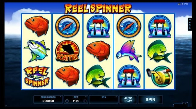 Play slots at Gaming Club: Gaming Club featuring the Video Slots Reel Spinner with a maximum payout of $112,500