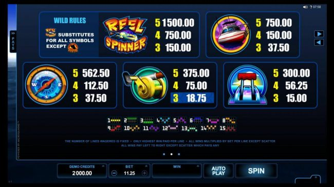 Play slots at Joy Casino: Joy Casino featuring the Video Slots Reel Spinner with a maximum payout of $112,500