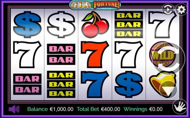 Spinland featuring the Video Slots Reels of Fortune with a maximum payout of $250,000