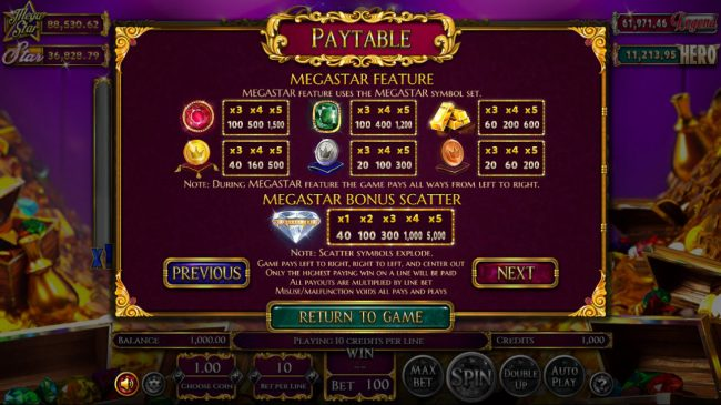 Play slots at Black Lotus: Black Lotus featuring the Video Slots Reels of Wealth with a maximum payout of $67,400