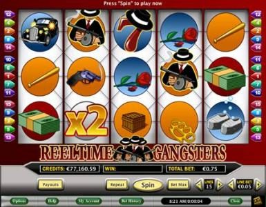 Celtic featuring the Video Slots Reeltime Gangsters with a maximum payout of $5,000