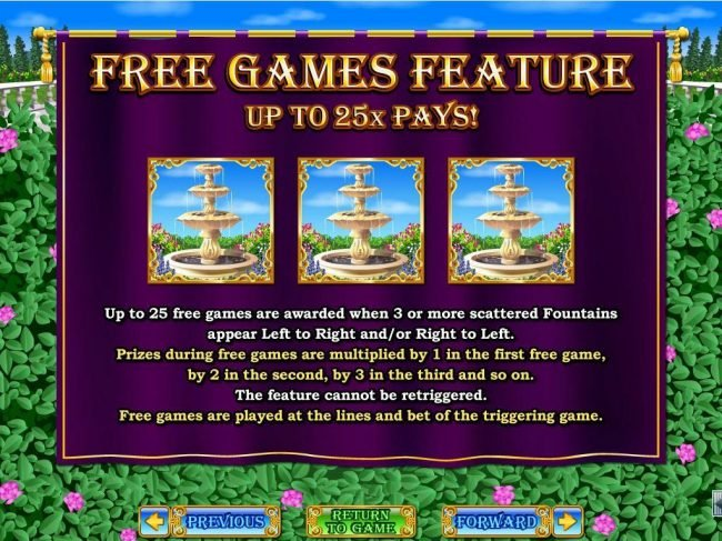 Captain Jacks featuring the Video Slots Regal Riches with a maximum payout of $250,000