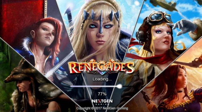 Rose Slots featuring the Video Slots Renegades with a maximum payout of $200,000