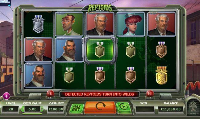 Reptoids :: Main Game Board