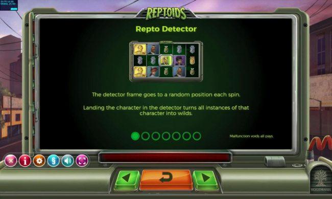 Reptoids :: Repto Detector Rules