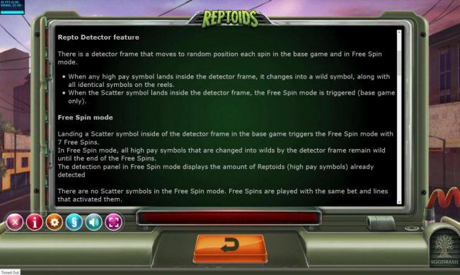 Reptoids :: General Game Rules