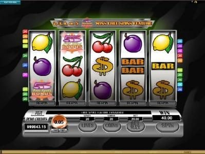 Grand Mondial featuring the Video Slots Retro Reels with a maximum payout of $110,000