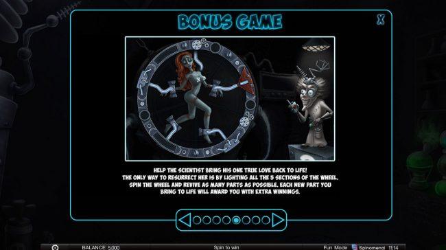 Reviving Love :: Bonus Game Rules