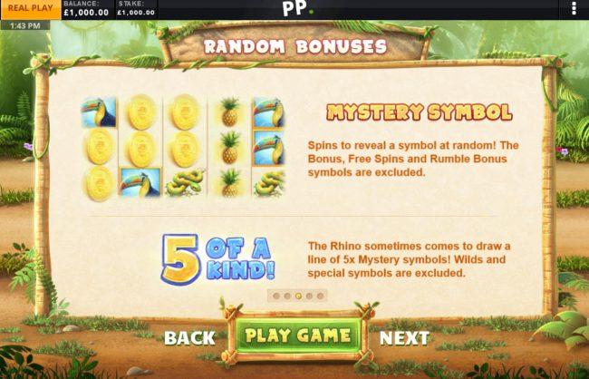 Random Bonuses