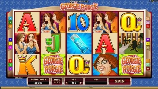 Play slots at Wild Tornado: Wild Tornado featuring the Video Slots Rhyming Reels - Georgie Porgie with a maximum payout of $7,500