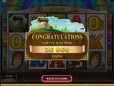 Villento featuring the Video Slots Rhyming Reels - Jack & Jill with a maximum payout of $2,200,000