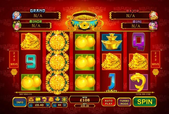 Fly Casino featuring the Video Slots Ri Ri Sheng Cai with a maximum payout of Jackpot