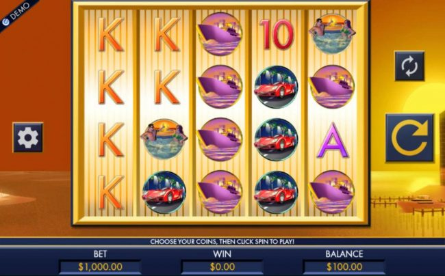 Play slots at Avalon78: Avalon78 featuring the Video Slots Rich Man's Toys with a maximum payout of $50,000