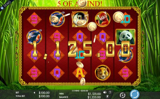 Casino Extra featuring the Video Slots Rich Panda with a maximum payout of $2,000