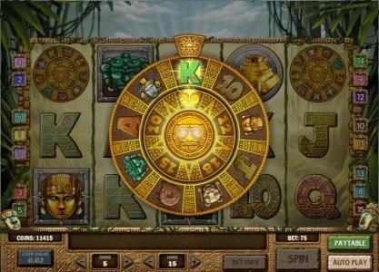 TS featuring the Video Slots Rich Wilde and the Aztec Idols with a maximum payout of $1,250