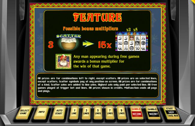 Energy featuring the Video Slots Riches of India with a maximum payout of $45,000