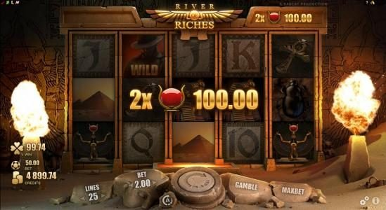 Betway featuring the Video Slots River of Riches with a maximum payout of $160,000
