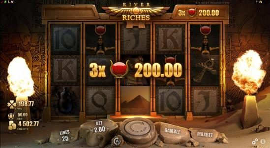 CKcasino featuring the Video Slots River of Riches with a maximum payout of $160,000