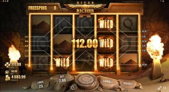 Caribic featuring the Video Slots River of Riches with a maximum payout of $160,000