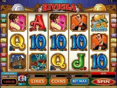 Play slots at Golden Boys Bet: Golden Boys Bet featuring the Video Slots Riviera Riches with a maximum payout of $300,000
