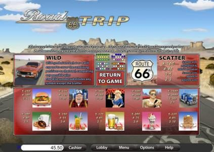 Big Dollar featuring the Video Slots Road Trip with a maximum payout of $9,375