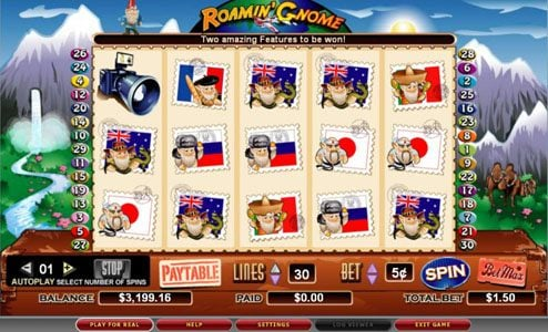 Casino Superlines featuring the video-Slots Roamin' Gnome with a maximum payout of 5,000x