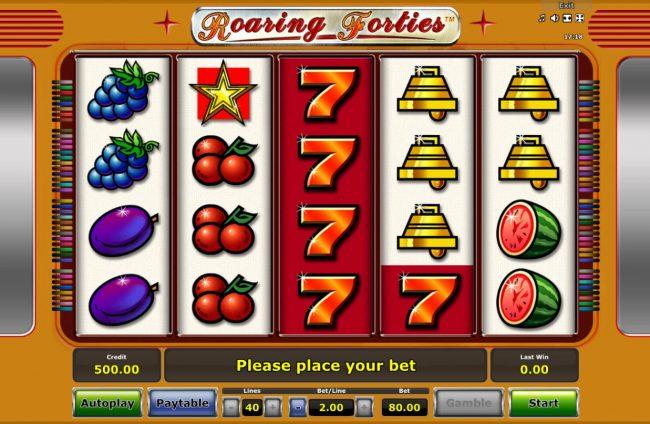 Roaring Forties :: Main Game Board