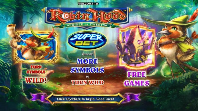 Play slots at Ladbrokes: Ladbrokes featuring the Video Slots Robin Hood Prince of Tweets with a maximum payout of $16,000