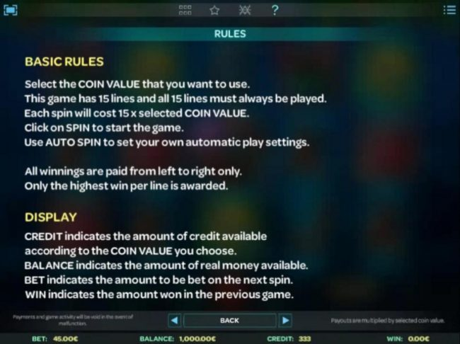 Basic Rules