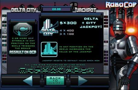 Delat City Jackpot Rules