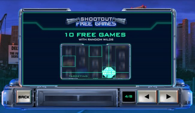 Omni featuring the Video Slots RoboCop with a maximum payout of $2,500