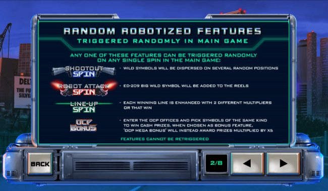 Ramdon Robotized Features