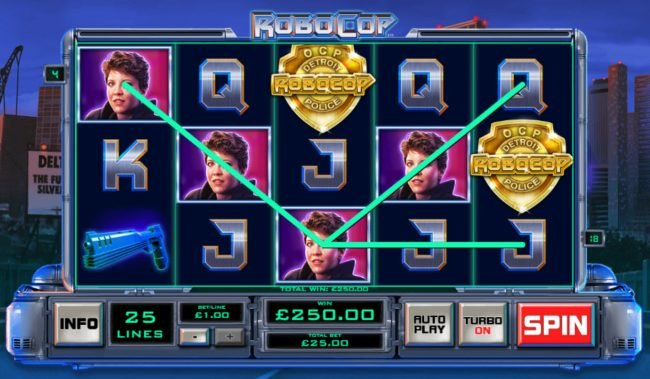 Play slots at Titanbet.it: Titanbet.it featuring the Video Slots RoboCop with a maximum payout of $2,500