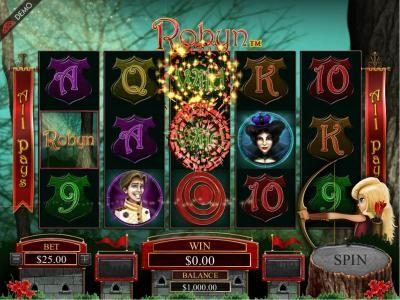 Euro Palace featuring the Video Slots Robyn with a maximum payout of $125,000