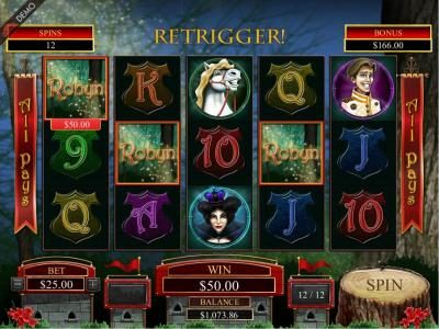 Vbet Casino featuring the Video Slots Robyn with a maximum payout of $125,000