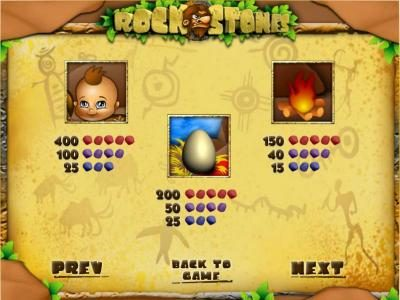 Wintingo featuring the Video Slots Rock Stones with a maximum payout of $1,250,000