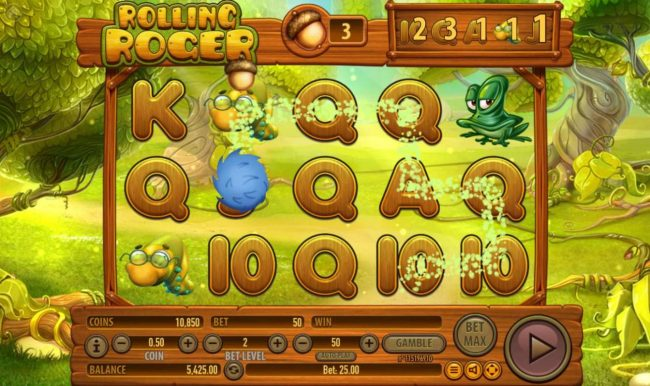 Rich Casino featuring the Video Slots Rolling Roger with a maximum payout of $100,000