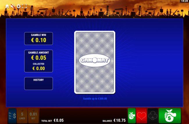 Roman Legion Xtreme :: Card Gamble Feature Game Board
