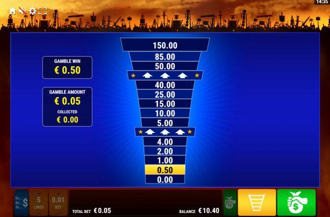 Roman Legion Xtreme :: Ladder Gamble Feature Game Board