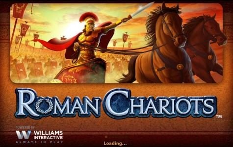 Roman Chariots :: Splash screen - game loading