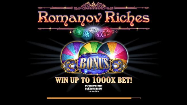 Play slots at iviCasino: iviCasino featuring the Video Slots Romanov Riches with a maximum payout of $100,000