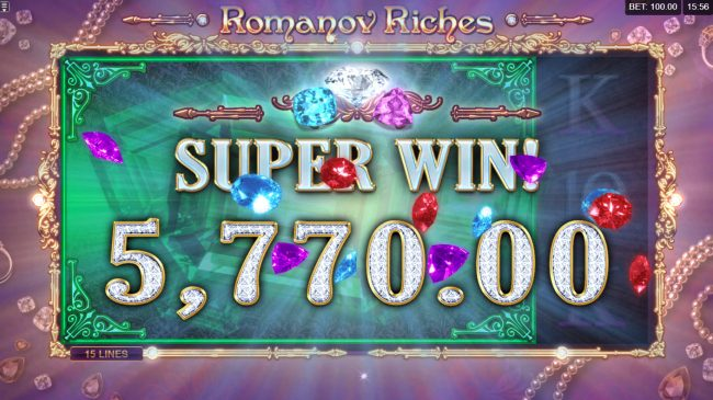 Play slots at Betive: Betive featuring the Video Slots Romanov Riches with a maximum payout of $100,000