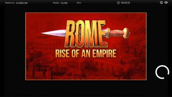 Play slots at Chomp: Chomp featuring the Video Slots Rome Rise of an Empire with a maximum payout of $250,000