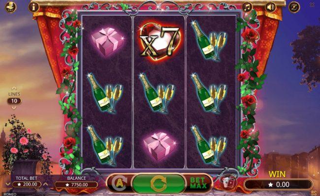 Romeo :: Multiple winning paylines triggers a big win