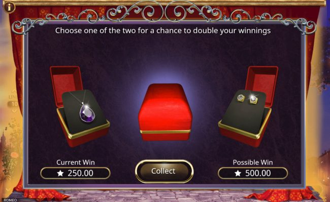 Africa Casino featuring the Video Slots Romeo with a maximum payout of $350,000