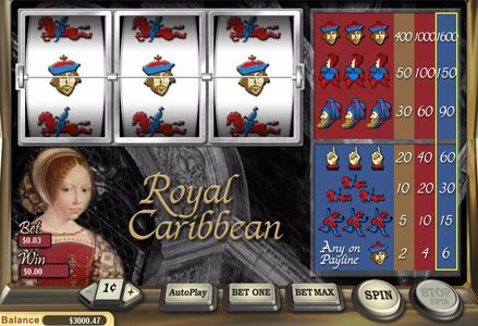Play slots at Lincoln: Lincoln featuring the Video Slots Royal Carribean with a maximum payout of $16,000