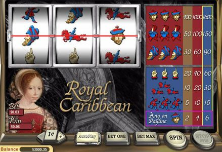 Red Stag featuring the Video Slots Royal Carribean with a maximum payout of $16,000
