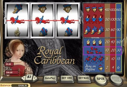 Miami Club featuring the Video Slots Royal Carribean with a maximum payout of $16,000