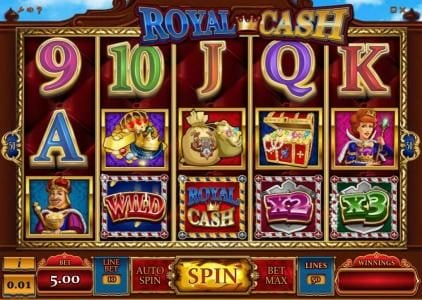Play slots at 7Bit: 7Bit featuring the Video Slots Royal Cash with a maximum payout of $100,000